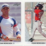 Leaf releases first licensed cards of prospect Yoan Moncada
