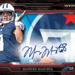 2015 Topps Strata Football preview
