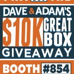 "Dave & Adam's to hold ""$10,000 Great Box Giveaway"" promotion at National"