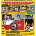 Tristar to hold memorabilia giveaway as part of National redemption program