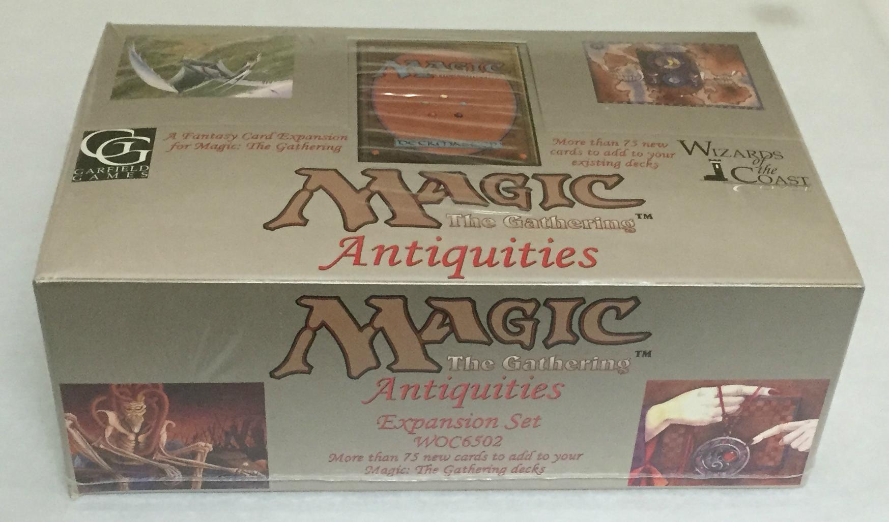 Sealed Box Of Mtg Antiquities
