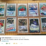Keith Olbermann shows off collection of Will Ferrell autos
