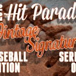 2015 Hit Parade Baseball Vintage Signature Edition Series 1 preview