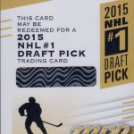 First Connor McDavid redemptions hit market in 15-16 Upper Deck MVP