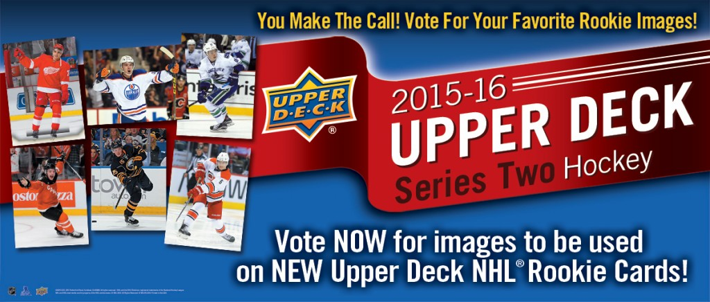 Upper Deck letting fans choose image for Jack Eichel Young Gun card in Series 2 Hockey