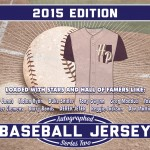 2015 Hit Parade Autographed Baseball Jersey Series 2 preview