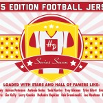 2015 Hit Parade Autographed Football Jersey Series 7 preview