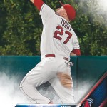 Mike Trout wins fan vote to become card #1 in 2016 Series 1 Baseball