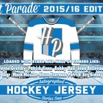 2015-16 Hit Parade Autographed Hockey Jersey Series 1 preview