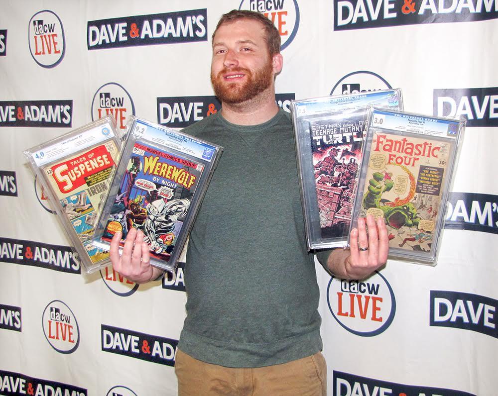 Comic Buyer Will