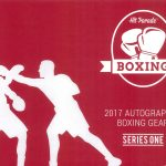 New Product Launch – 2017 Hit Parade Autographed Boxing Gear Hobby Box