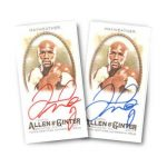 Floyd Mayweather Autographs in 2017 Topps Allen & Ginter