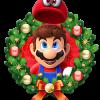 wreath-mario
