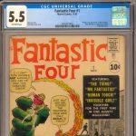 The 1st Appearance of Marvel's premier superhero family has arrived – Fantastic Four #1!