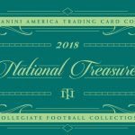 2018 National Treasures Collegiate Football Out August 22nd!