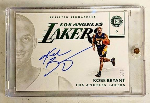 Kobe Bryant Scripted Signatures 1/5