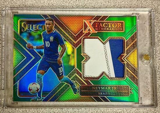 Neymar Jr. 3 Color Patch Card