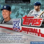Product Preview: 2019 Topps Baseball Series One out in January with Silver Packs!