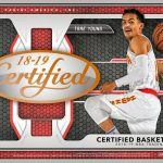 Product Preview: 2018/19 Panini Certified Basketball returns to the hobby this November!