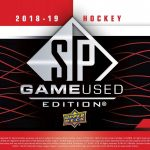 Product Preview: 2018/19 Upper Deck SP Game Used Hockey out in January!