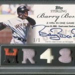 Massive Barry Bonds buy now up on the website!