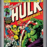 Hulk #181 – CGC Graded 9.8 just in and up for sale on the website!