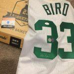 #DACWPulls – Larry Bird Autographed Jersey!