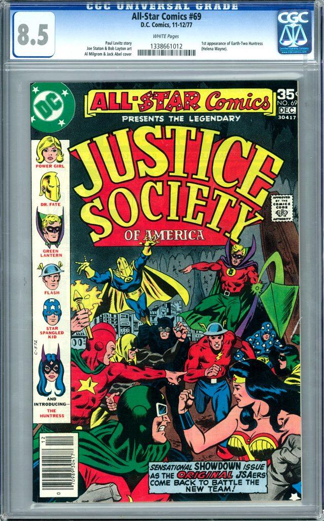 All-Star Comics #69 DC Comics