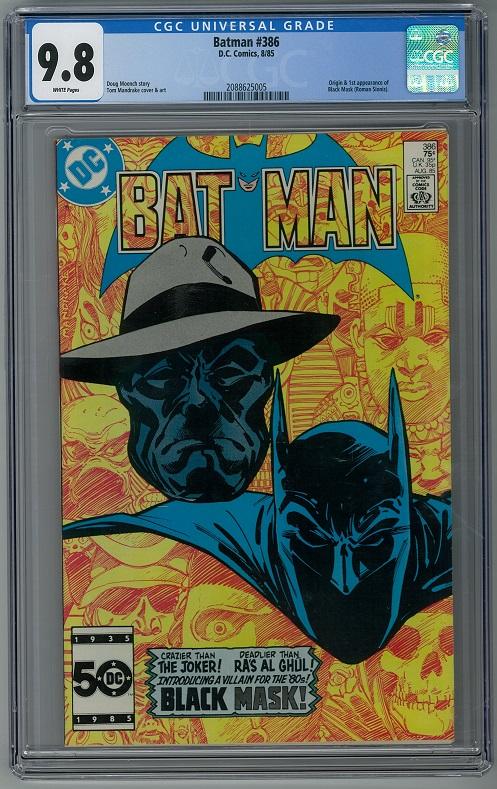 Batman #386 DC Comics