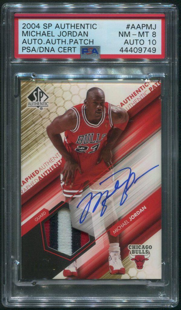2004 Upper Deck SP Authentic Michael Jordan Autographed Card