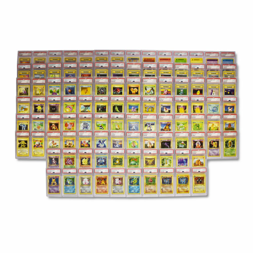 Pokemon Base Set 1st Edition Shadowless Complete Set PSA 10