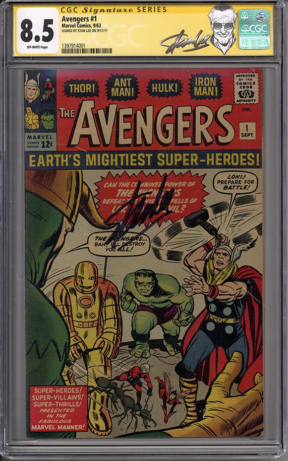Avengers #1 CGC 8.8