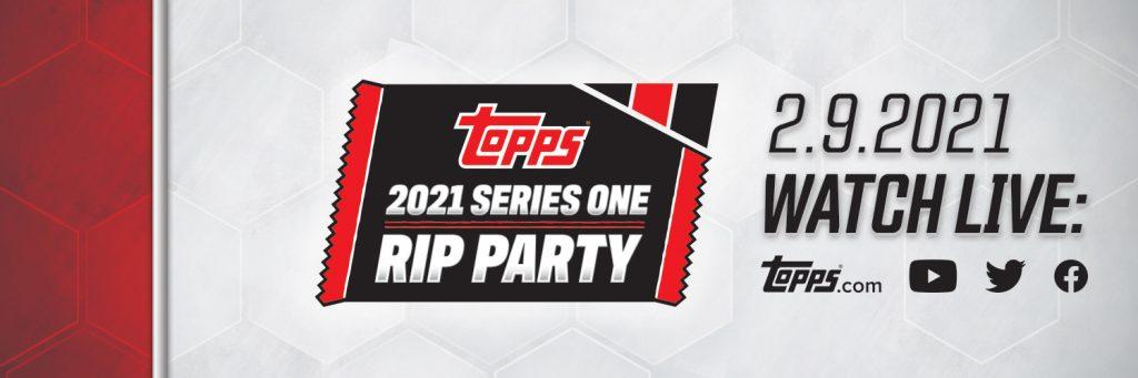 2021 Topps Series 1 Baseball Rip Party