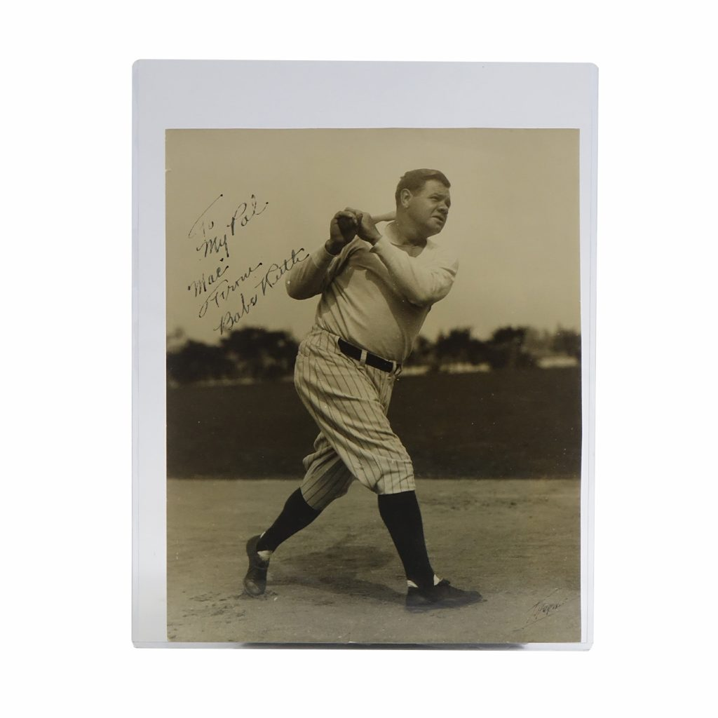 Babe Ruth Autographed 8x10 Photo