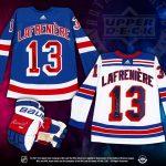 Upper Deck Launches Alex Lafrenière Autographed Jerseys & Gloves!