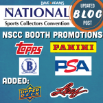 2021 National Sports Collectors Convention: Booth Promotions