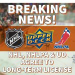 NHL & NHLPA Agree to Long-term Extension with Upper Deck